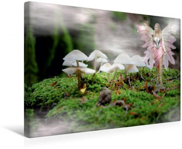 Wandbild Engel und Elfen begleiten Dich