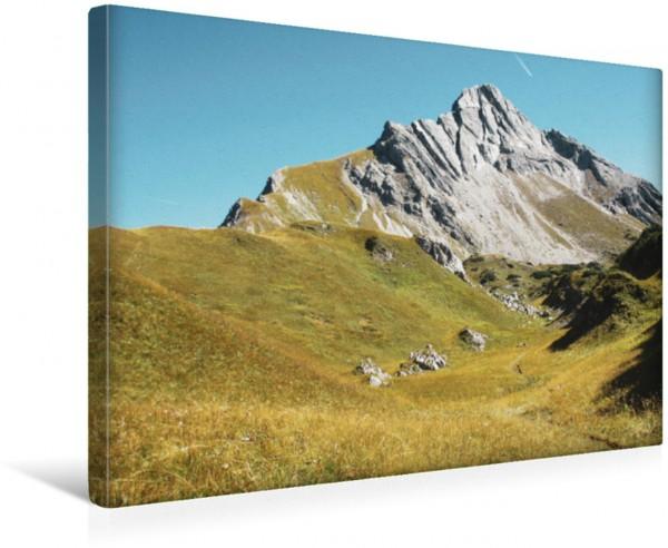 Wandbild Berge der Alpen, Österreich Deutschland Biberkopf Österreich/Deutschland Biberkopf Österreich/Deutschland