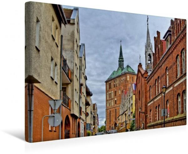 Wandbild Die katholische Marienkirche, der Kolberger Dom, wurde erstmals 1316 urkundlich erwähnt
