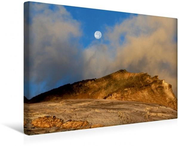 Wandbild Traumhafte Mondreise