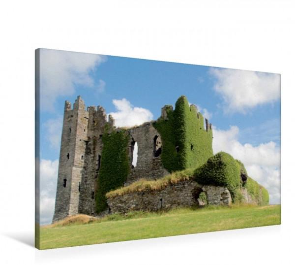 Wandbild Ballycarbery Castle, Ring of Kerry in Irland