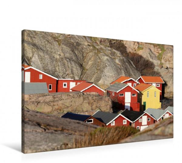 Wandbild Schwedische Westküste