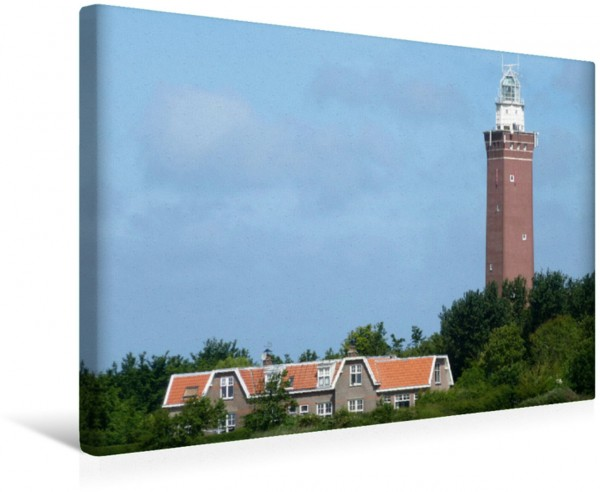 Wandbild Leuchtturm Wahrzeichen von Ouddorp Wahrzeichen von Ouddorp