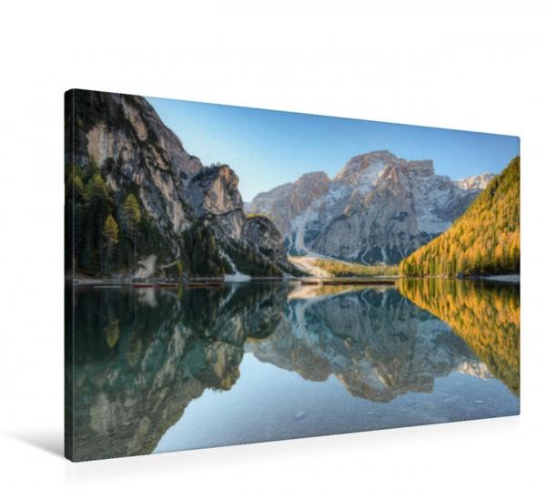 Wandbild Pragser Wildsee in Südtirol