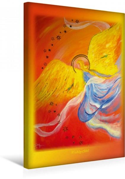 Wandbild Ein Motiv aus dem Posterbuch ENGEL - Lichtboten für die Seele Engel des Wohlgefühls Engel des Wohlgefühls