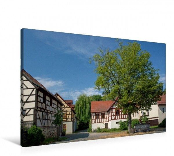 Wandbild Dorfanger Jüdewein