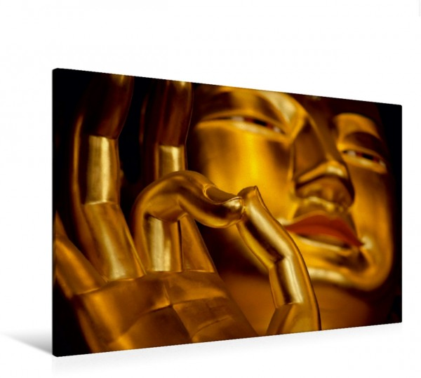 Wandbild Goldener Buddha