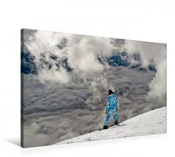 Wandbild Snowboard - so cool