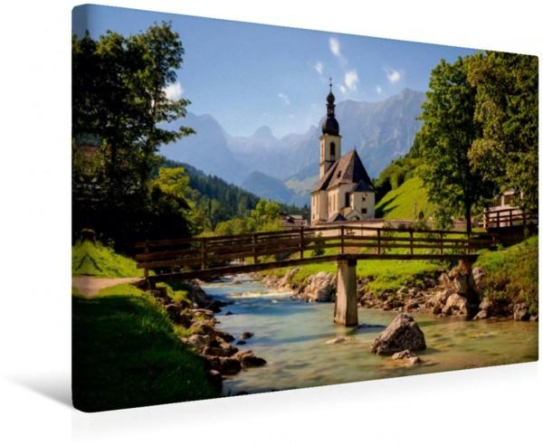 Wandbild St. Sebastian Ramsau b. Berchtesgaden Die St. Sebastian Kirche in Ramsau b. Berchtesgaden. Die St. Sebastian Kirche in Ramsau b. Berchtesgaden.