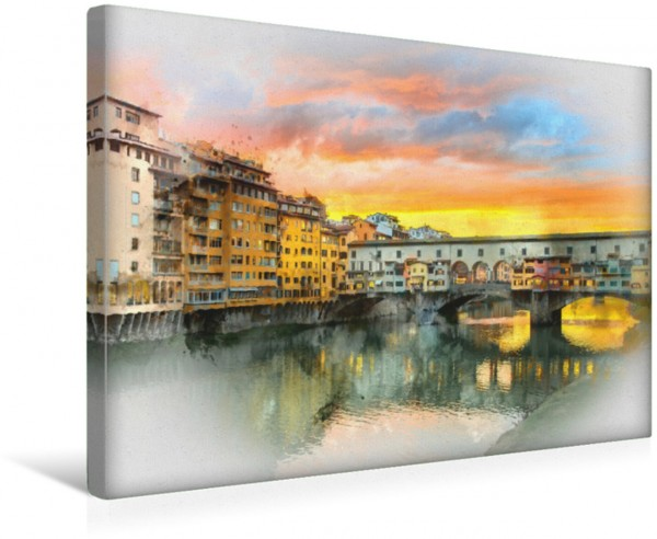 Wandbild Florenz Hauptstadt der Toskana
