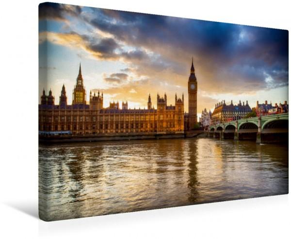 Wandbild Westminster Bridge Big Ben