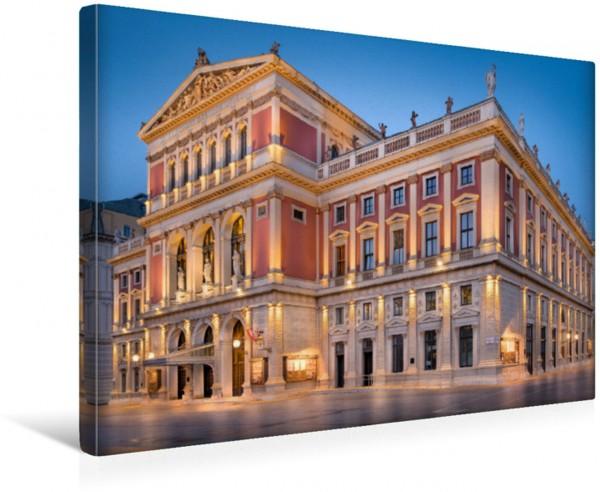 Wandbild Musikverein Konzertsaal des weltberühmten Neujahrskonzertes der Wiener Philharmoniker Konzertsaal des weltberühmten Neujahrskonzertes der Wiener Philharmoniker
