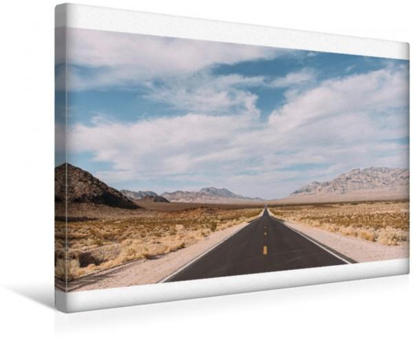Wandbild Der Lange Weg ins Tal des Todes Traumstraße USA Traumstraße USA