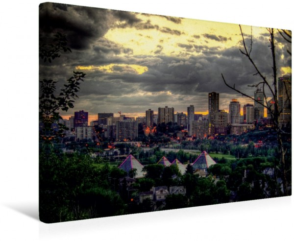 Wandbild Edmonton Kanada Kanada