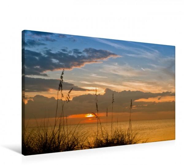Wandbild BONITA BEACH Sonnenuntergang Idyllische Abendstimmung am Strand Idyllische Abendstimmung am Strand
