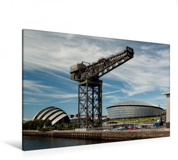 Wandbild Finnieston Kran und Hydro Arena in Glasgow