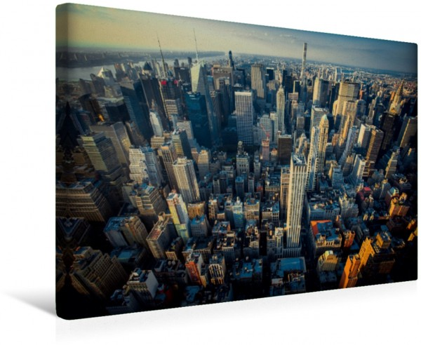 Wandbild Stadtansichten New York Manhatten Manhatten