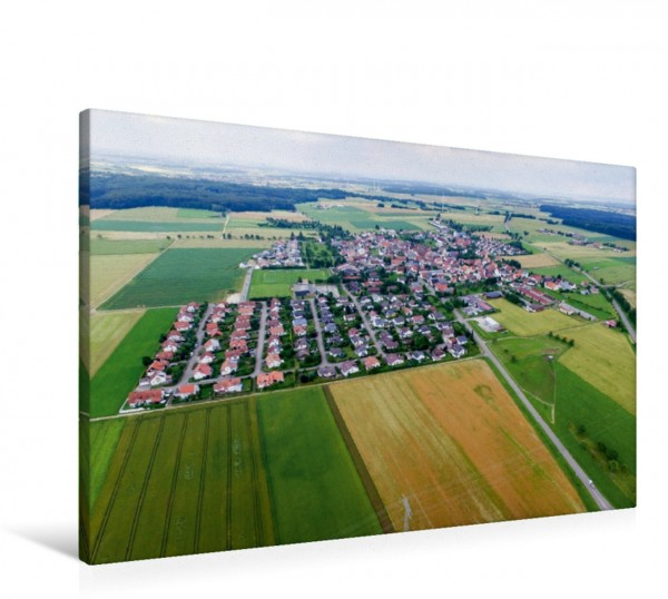 Wandbild Laichingen Ortsteil Suppingen