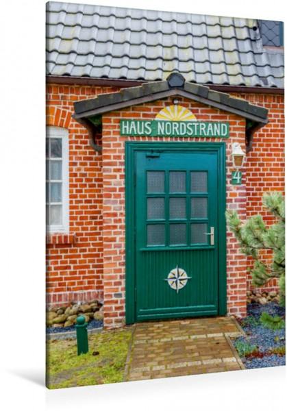 Wandbild Haus Nordstrand in Prerow, Mecklenburg-Vorpommern