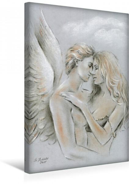 Wandbild Engel auf Erden
