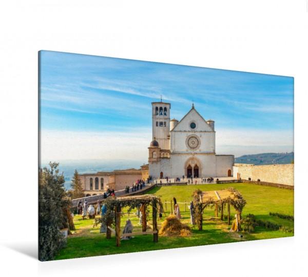 Wandbild Assisi - Mittelalterliches Herz Italiens