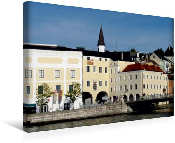 Wandbild Stadttor von Gmunden