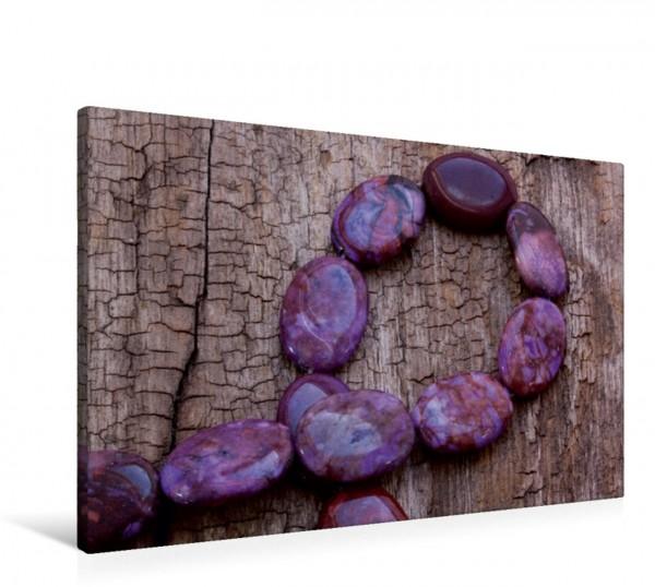Wandbild Purpurit-Kette