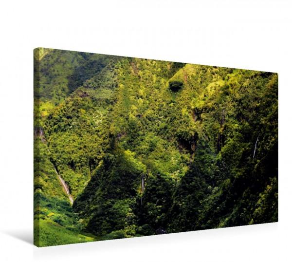 Wandbild Waialeale Canyon Wundervolles Hawaii Kauai Wundervolles Hawaii Kauai