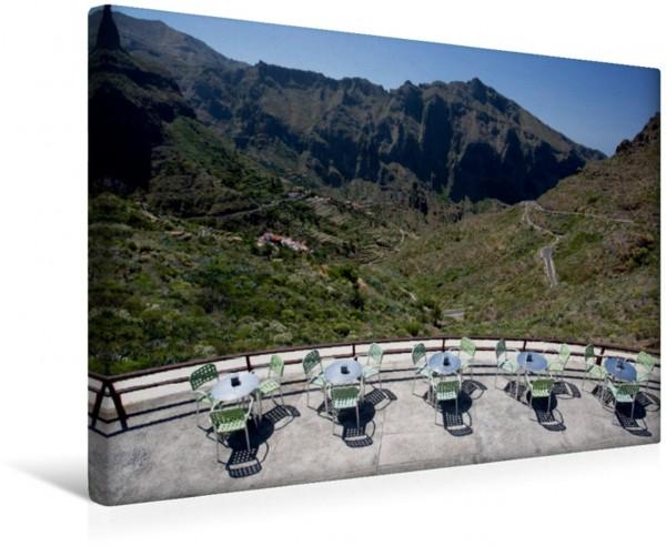 Wandbild Teneriffa - Mirador De La Cruz de Hilda im Teno Gebirge