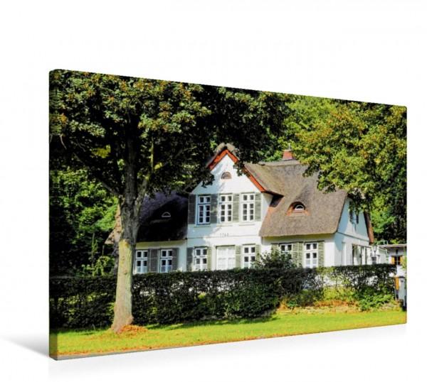 Wandbild Reinbek, Tischlerkate Eines der ältesten Häuser Reinbeks Eines der ältesten Häuser Reinbeks
