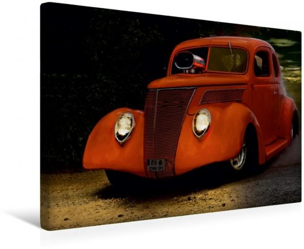 Wandbild Außergewöhnliche Autos - Hot Rods Red Monster Red Monster
