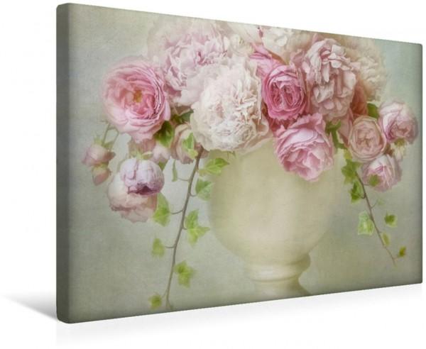 Wandbild Sommerblumenstrauß