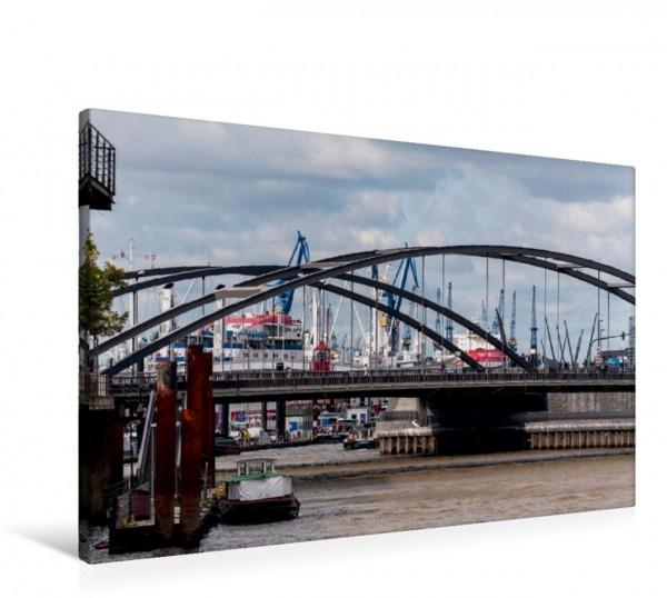 Wandbild Die Niederbaumbrücke