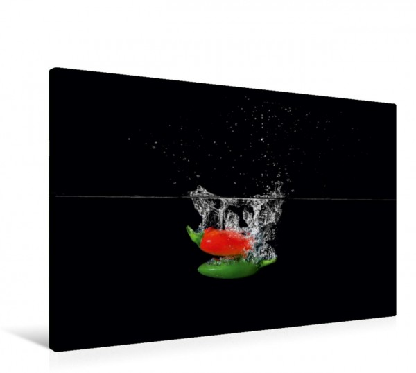 Wandbild Früchten Splash
