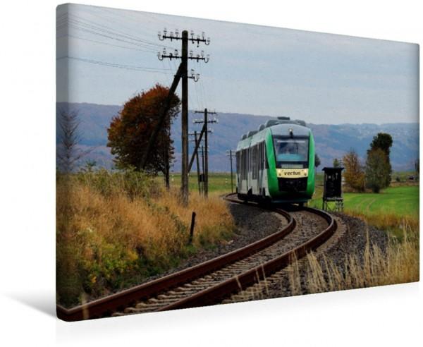 Wandbild Nebenbahnidylle im Westerwald 648 159 unterwegs als VEC 25754 Limburg - AuSieg auf der Oberwesterwaldbahn bei Hachenburg 648 159 unterwegs als VEC 25754 Limburg - AuSieg auf der Oberwesterwal