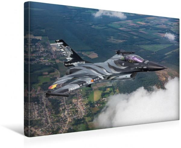 Wandbild Belgian Air Force - F-16 Fighting Falcon