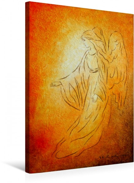 Wandbild Engel der Heilung
