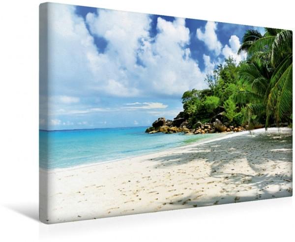 Wandbild Traumstrand Georgette Anse Georgette auf Praslin Traumstrände der Seychellen von Jürgen Feuerer: Anse Georgette auf Praslin Traumstrände der Seychellen von Jürgen Feuerer: