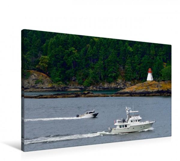 Wandbild Leuchtturm entlang der Inside Passage Kanadas Inside Passage Kanadas Inside Passage