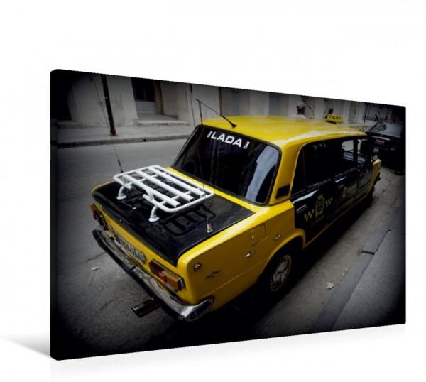 Wandbild LADA-Taxi in Havanna