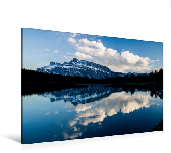 Wandbild Two Jack Lake, Alberta, Kanada Rundreise Westkanada Rundreise Westkanada