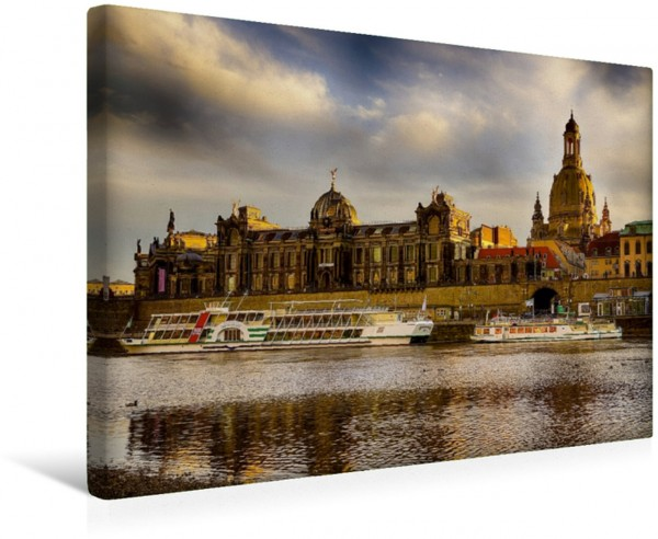 Wandbild Dresden wundervolles Dresden Leinwandbild