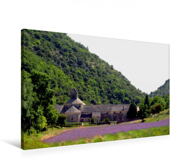 Wandbild Abbaye de Sénanque, Provence