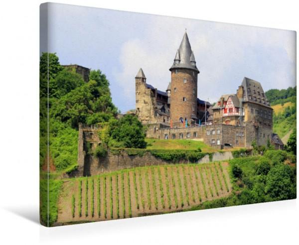 Wandbild Burg Stahleck in Bacharach
