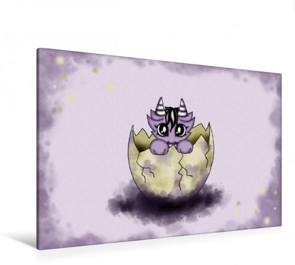 Wandbild Dragys - herzige Flugdrachen