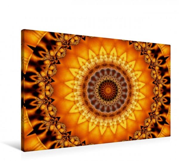 Wandbild Mandala ägyptische Sonne