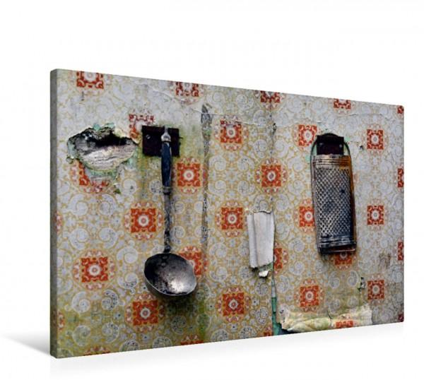 Wandbild Verlassene Küchenwelt