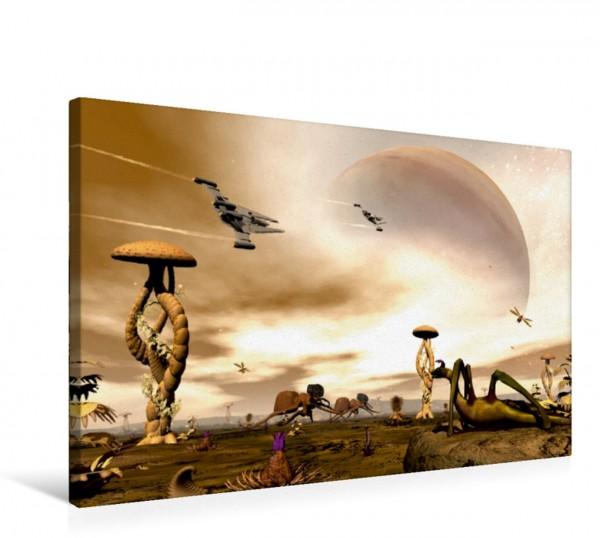 Wandbild Alienwelt