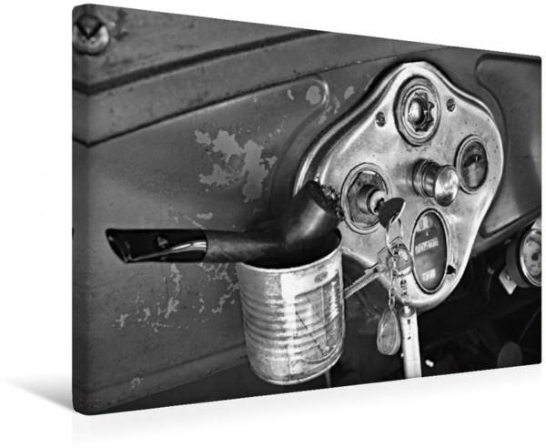 Wandbild Ford AF Sedan 1930 in Monochrom