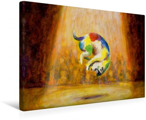 Wandbild Bekannt wie ein bunter hund sein Serie Sprichwörter Serie Sprichwörter